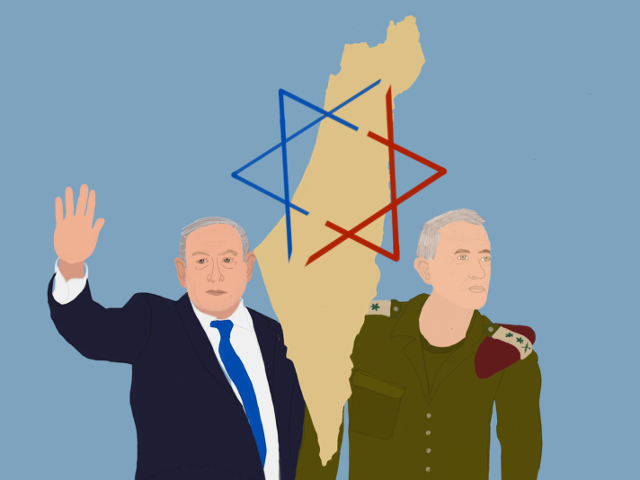Netanyahu & Gantz - Wellman (January 2020)